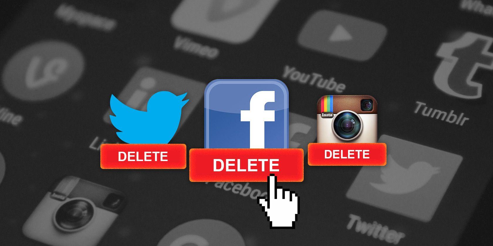 Delete Unused Online Social Media Accounts